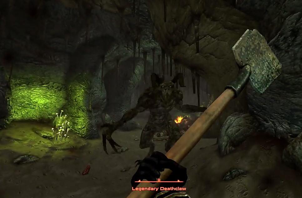 Legendary Deathclaw the Legendary Deathclaw