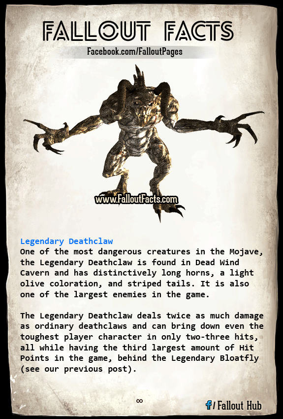 Legendary Deathclaw a Mother Deathclaw