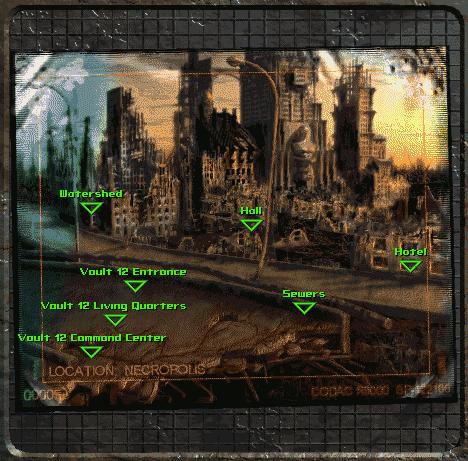 All Vaults Experiments Fallout Vaults 0 3 11 12